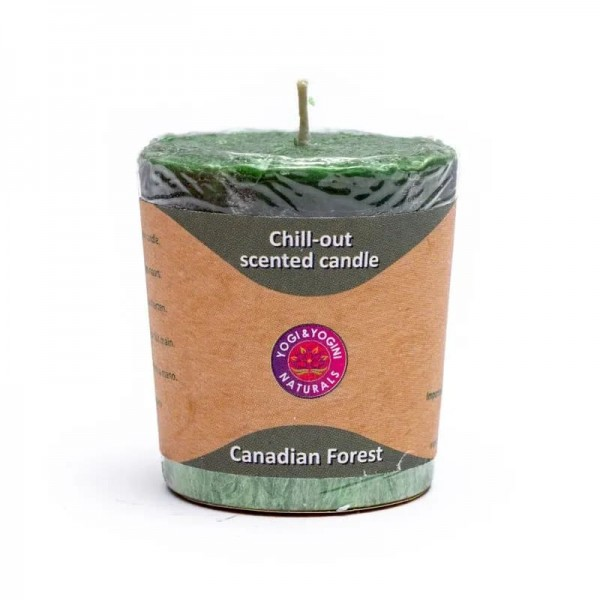 Chill-out Duftkerze 'Canadian Forest' Stearin -- 4.5x4 cm
