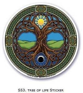 FENG SHUI Fensterbild Tree of Life Energie